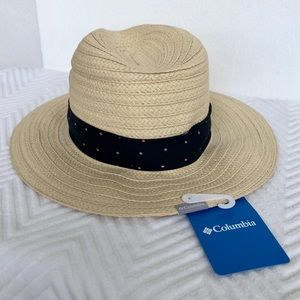 Columbia Womens Straw Hat Beach Hat One Size, M/L